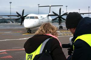 Københavns Lufthavne  Medarbejdere fra HR Udvikling & Intern Kommunikation på kursus hos Visual Story.
