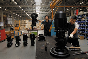 Grundfos. Production China