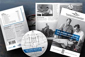 DVD og Bog. Fortællingen om KZ-flyet og iværksætterne Kramme og Zeuthen.