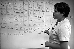Sygeplejerskernes billeder sikrede videndeling og en fælles forståelse for de faglige værdier.