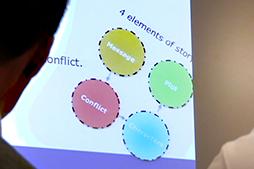 Workshoppen gav medarbejderne mulighed for at arbejde med historiefortælling, fotos og produktion af videoer ved hjælp af iPhones – med fokus på hvad der binder dem sammen som afdeling.