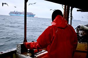 Kystfisker i den vestlige del af Østersøen