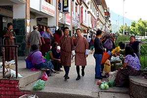 Bhutans møde med en moderne verden